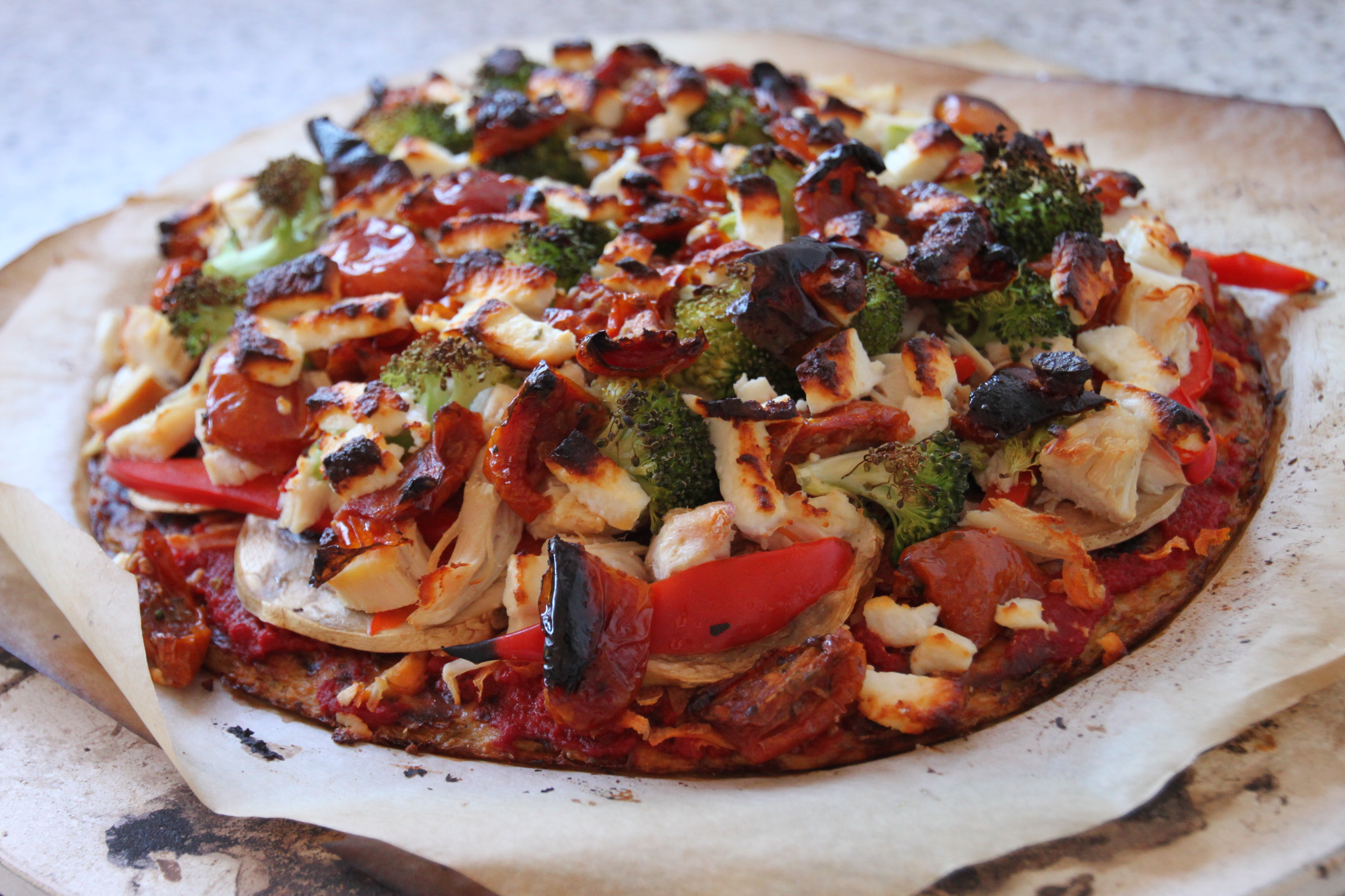 Cauliflower Based Pizza
