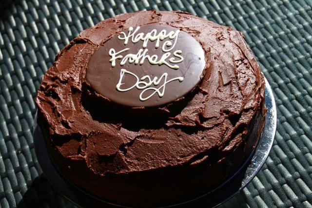 Mums Dark Chocolate Orange Cake