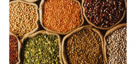 various legumes and grains