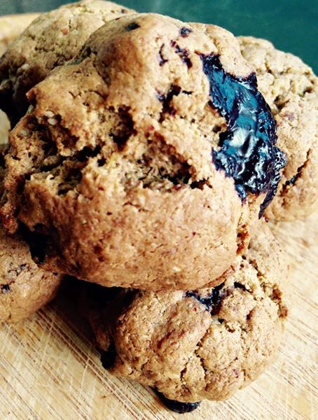 Nut Butter Choc Chip Cookies