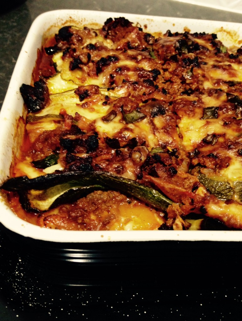 My Mums Beef Lasagne- With Vegetable 'Pasta'