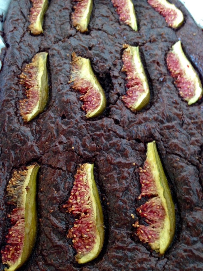 Chocolate Fig Brownie